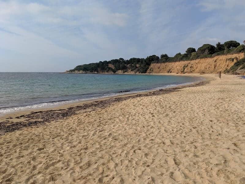 Mandraki Xerxes beach
