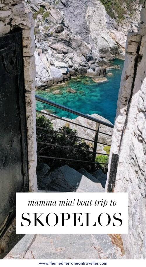 Skiathos: Taking The Mamma Mia Boat Trip with Poseidon
