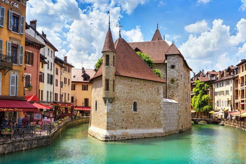 historic buildings in Annecy