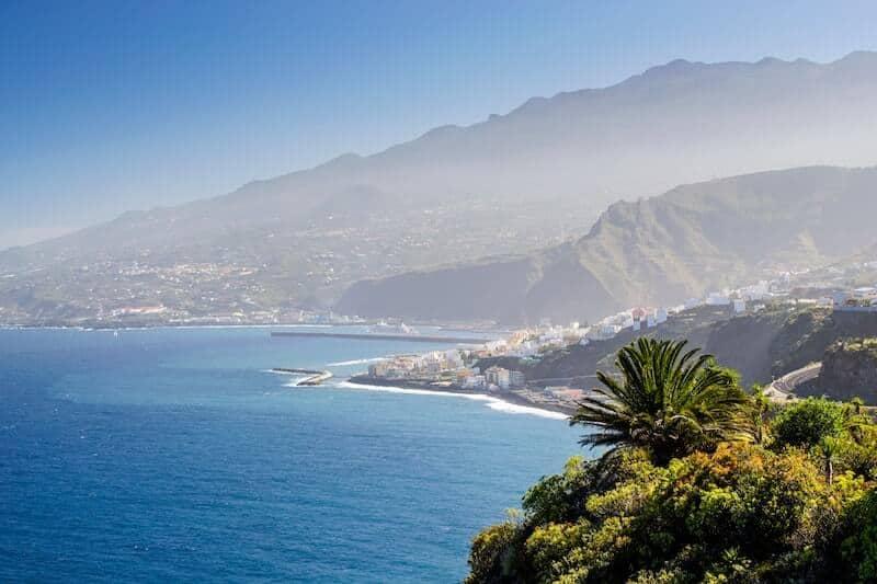 Tenerife's dramatic coastal scenery