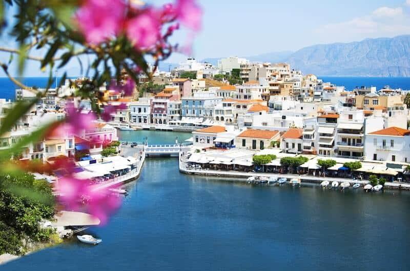 Agios Nikolaos waterfront